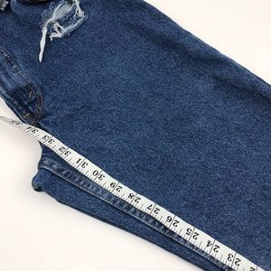 Levi's Jeans - Vintage Levi's 517 Relaxed Raw Hem Rip Jeans